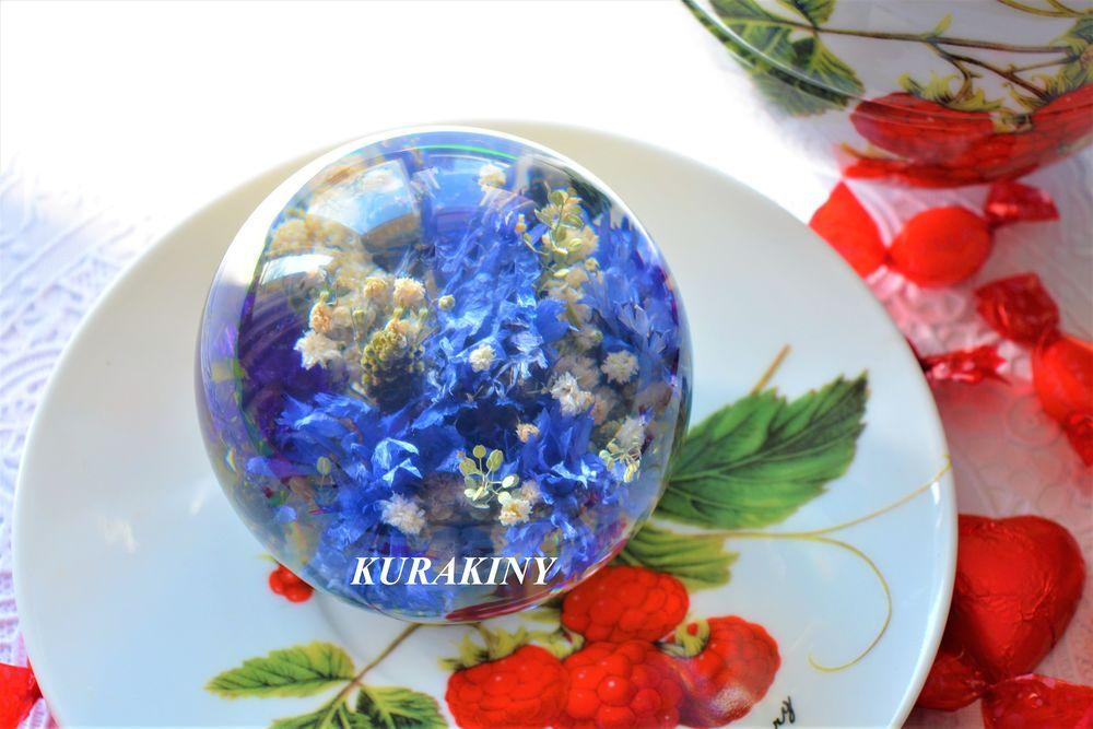 kurakiny, цветы в стекле, сувенир