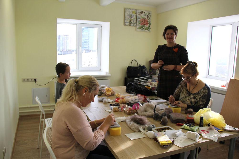 Отчет о мастер-классе Елены Колтуновой по валянию совенка, фото № 1