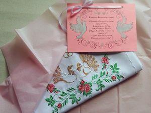 Свадебный/венчальный комплект, отправка заказа.. Ярмарка Мастеров - ручная работа, handmade.