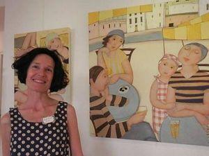 Cecile Veilhan и ее женщины. Ярмарка Мастеров - ручная работа, handmade.