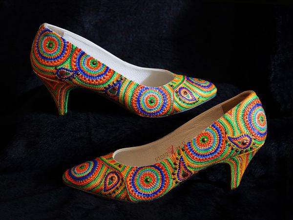 Туфли к лету | Ярмарка Мастеров - ручная работа, handmade