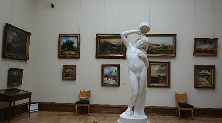 Смотреть картину — тоже искусство