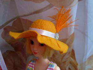 Видео мастер-класс: делаем шляпку для куклы своими руками. Ярмарка Мастеров - ручная работа, handmade.