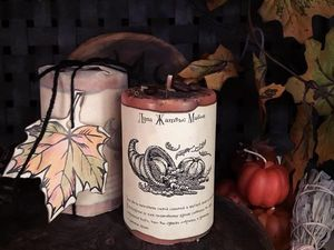 Мабонские свечи. Ярмарка Мастеров - ручная работа, handmade.