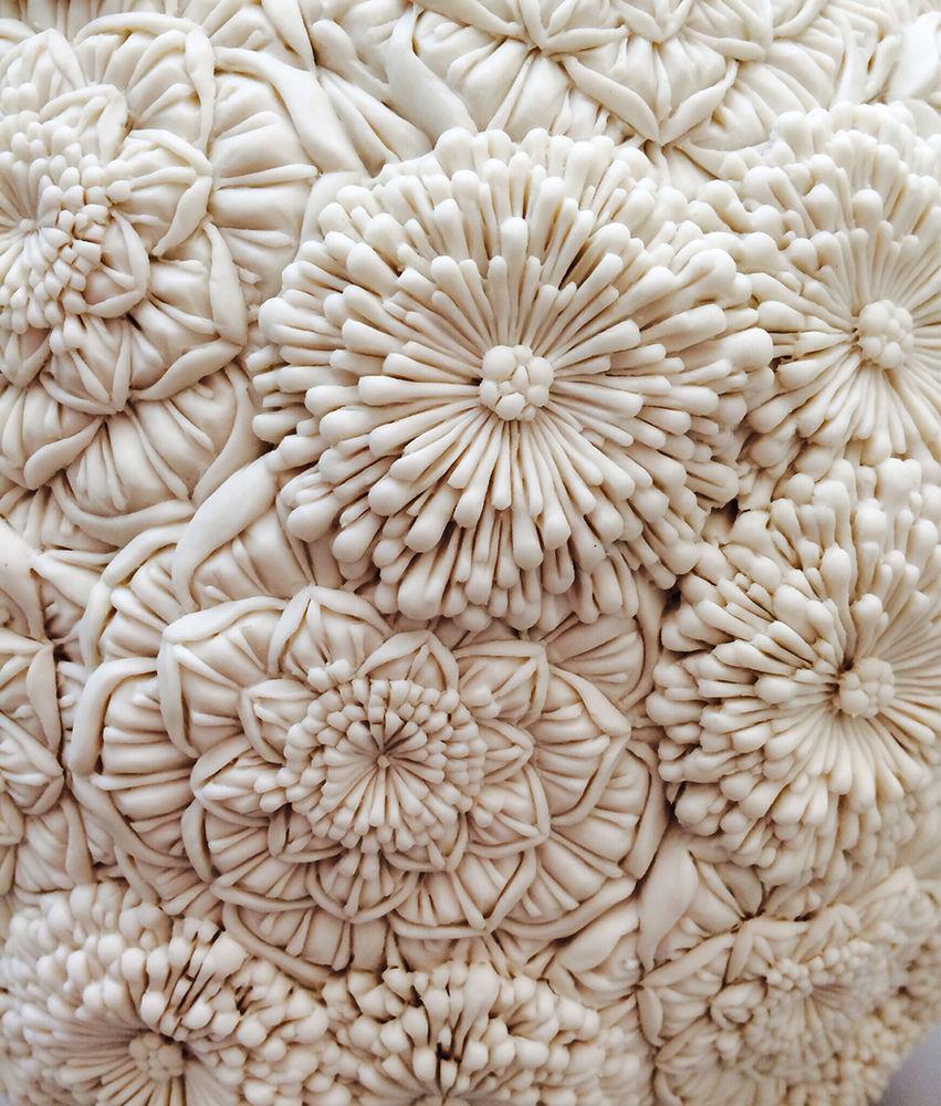 Потрясающие работы Hitomi Hosono: растения, застывшие в фарфоре, фото № 9