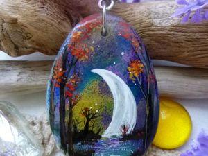 Традиционный аукцион понедельника. Луна-Луна.... Ярмарка Мастеров - ручная работа, handmade.
