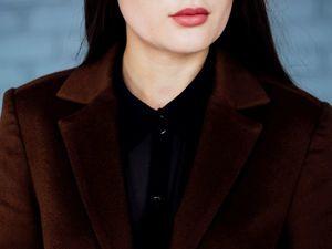 Пальто из кашемира - отличный выбор   Ярмарка Мастеров - ручная работа, handmade