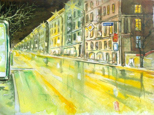 Ночной Город. | Ярмарка Мастеров - ручная работа, handmade