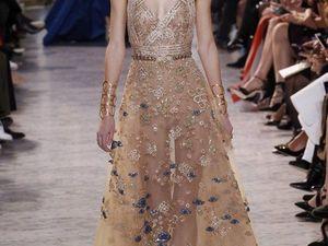 Восточная сказка: показ Elie Saab Haute Couture в Париже. Ярмарка Мастеров - ручная работа, handmade.