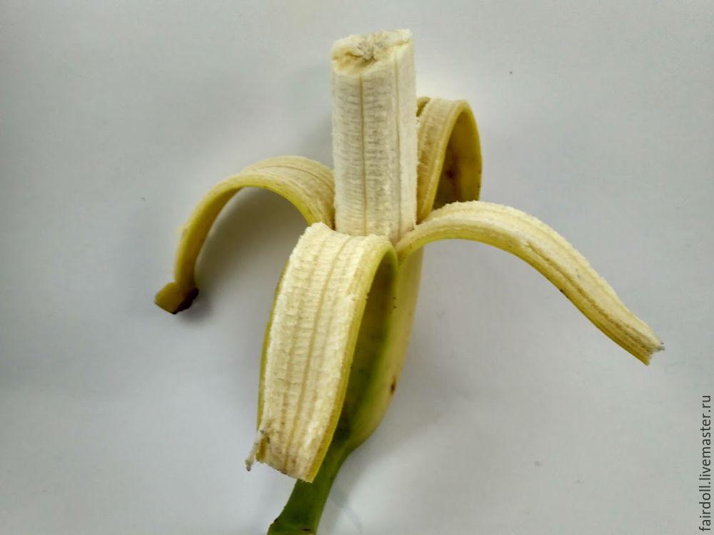 банан из флиса
