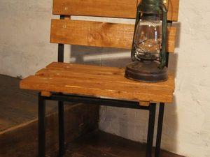 Создаем дачное настроение. Новая жизнь старого стула. Ярмарка Мастеров - ручная работа, handmade.