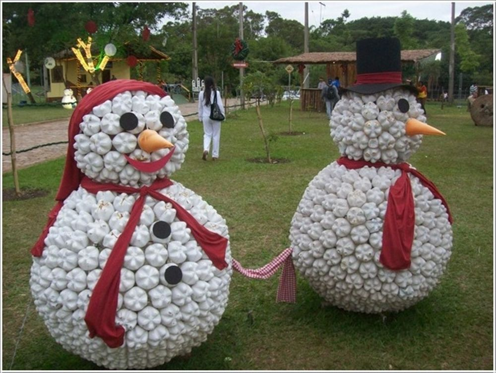 Christmas Decorations from Recycled Materials, фото № 21