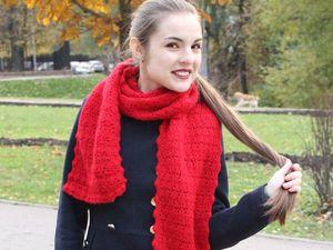 Разбуди в себе страсть - шарф