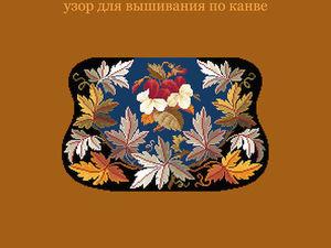 Фиалки и виноградные листья. Декор дорожной сумочки. Ярмарка Мастеров - ручная работа, handmade.