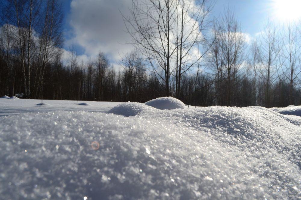 зимний день, настроение, снежный