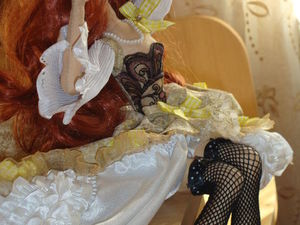 Будуарная кукла Маргарита. Ярмарка Мастеров - ручная работа, handmade.