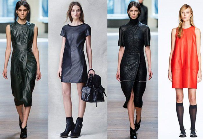 Самые модные фасоны платьев 2017
