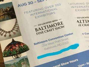 Выставка антиквариата в Балтиморе 1-2 сентября!. Ярмарка Мастеров - ручная работа, handmade.