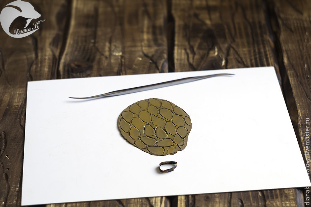 создание листиков, пластичная бронза