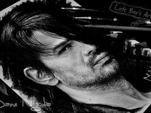 Быстрое видео рисования портрета Томо Милишевича (30stm). Ярмарка Мастеров - ручная работа, handmade.