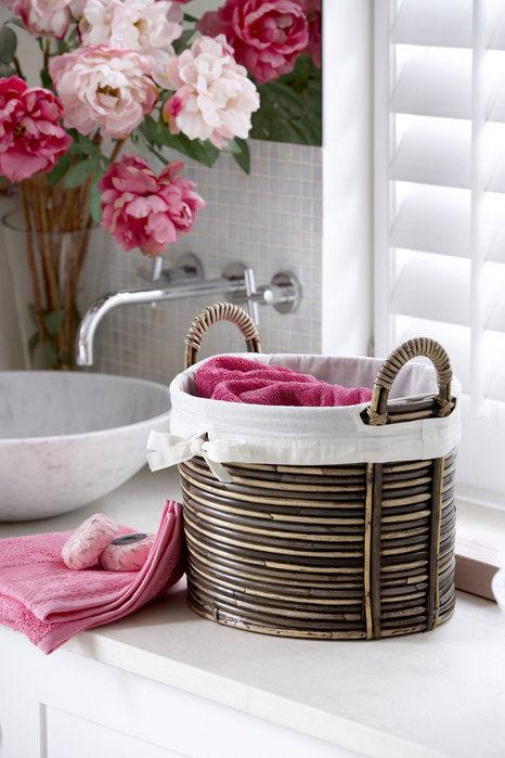 корзины в ванной