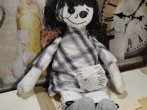 Головоножки из мира детских рисунков. Ярмарка Мастеров - ручная работа, handmade.