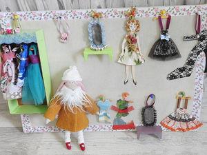 Создаем интерактивное панно «Модница». Часть 1. Ярмарка Мастеров - ручная работа, handmade.