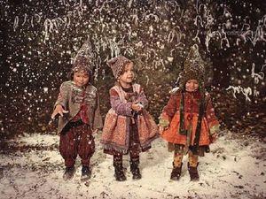 Волшебные сказки в Рождественских фотографиях детей. Ярмарка Мастеров - ручная работа, handmade.