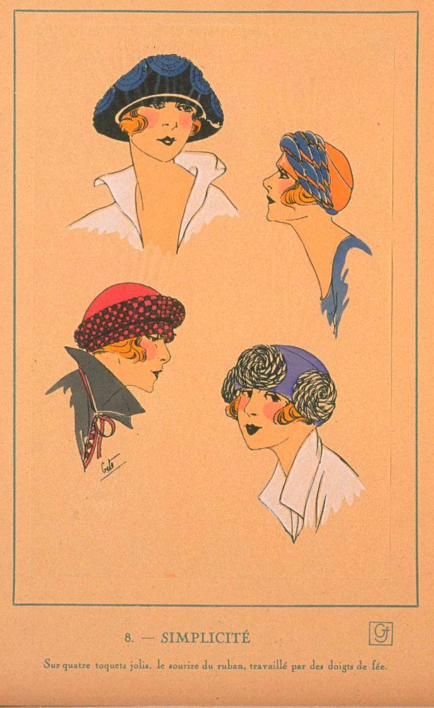 Ах, какие шляпки! Шляпная мода 1922 года по версии французского журнала «Les chapeaux du Tres parisien». Часть 2, фото № 10