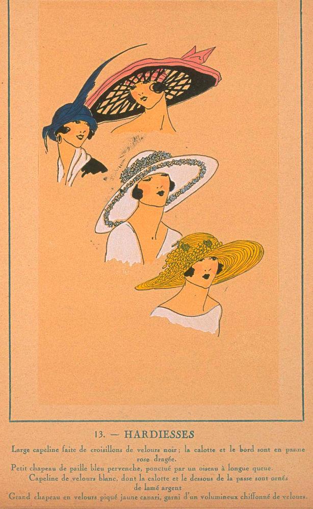 Ах, какие шляпки! Шляпная мода 1922 года по версии французского журнала «Les chapeaux du Tres parisien». Часть 2, фото № 34