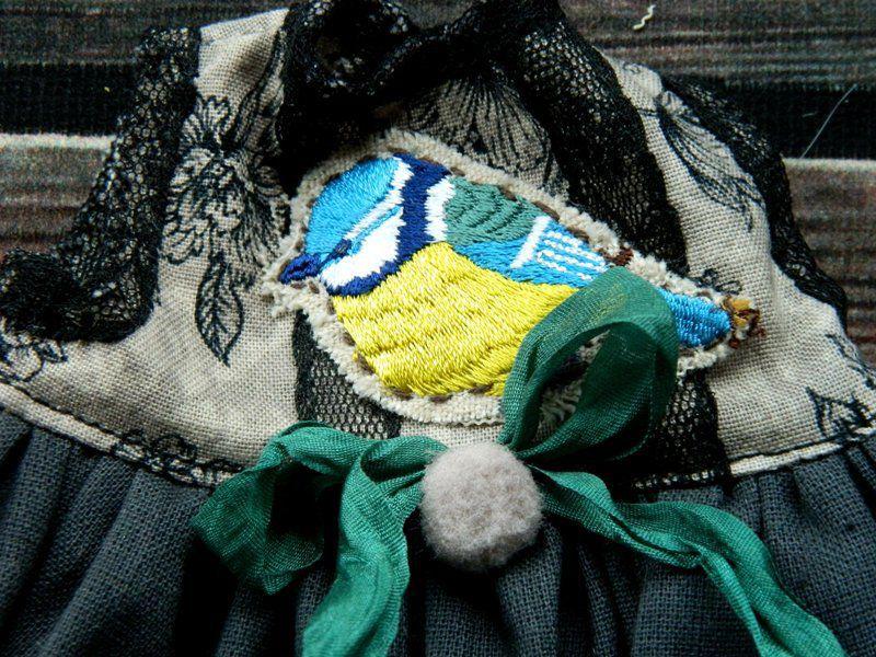 Новые наряды в стиле боха для мишек и кукол!, фото № 4