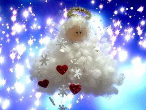 Видео мастер-класс: воздушный «Ангел на облаке». Ярмарка Мастеров - ручная работа, handmade.