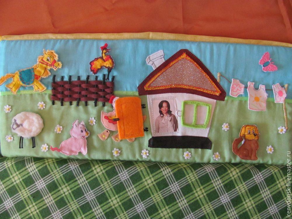 В подарок малышу: делаем развивающий коврик-трансформер. Часть 1, фото № 7