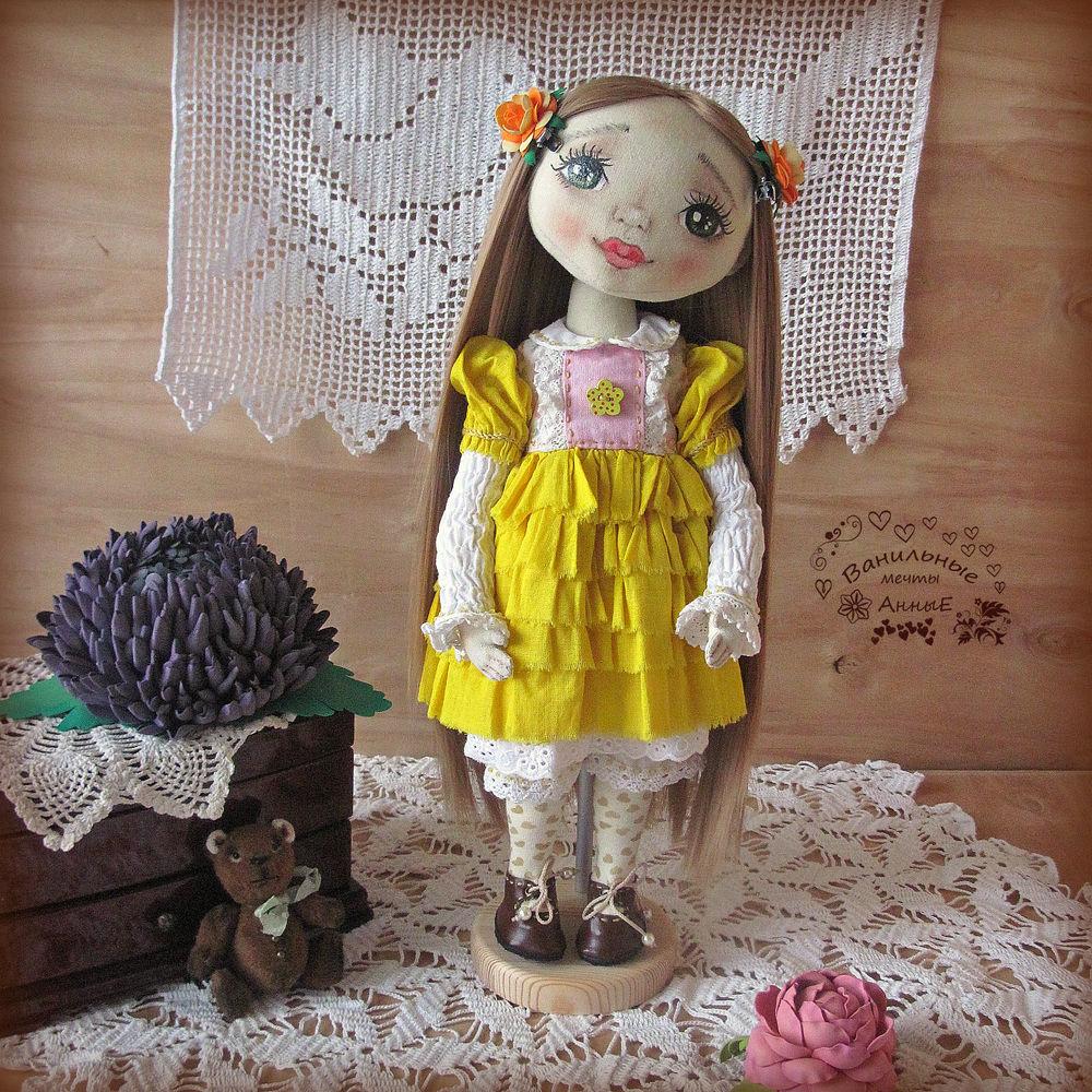 интерьерная кукла, подарок женщине