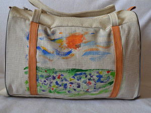 Как мы делали сумку с рисунком: мастер-класс. Ярмарка Мастеров - ручная работа, handmade.
