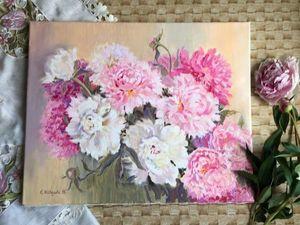 20% Скидка на картины цветов!. Ярмарка Мастеров - ручная работа, handmade.
