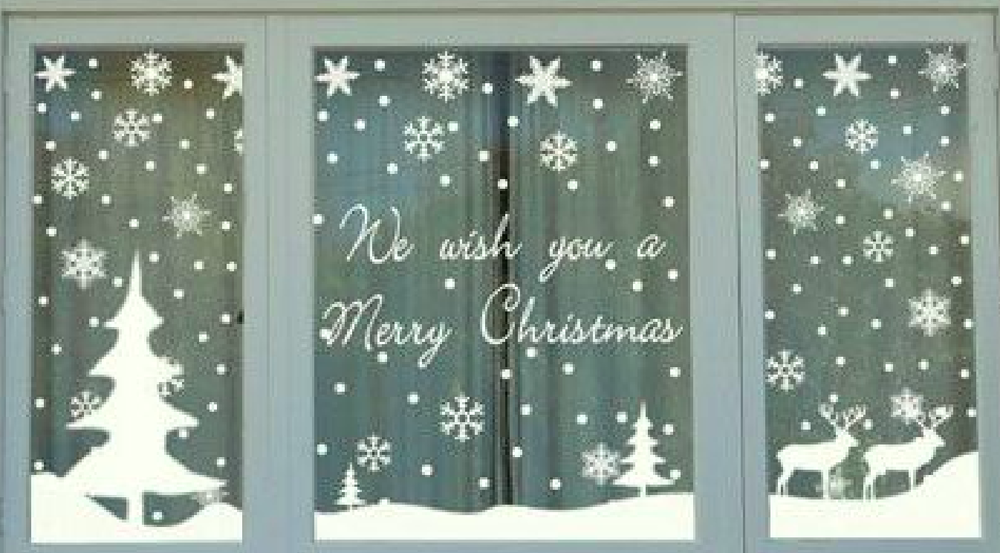 How to Decorate Windows for New Year: 20 Great Ideas, фото № 13