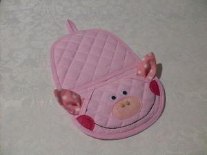 Создаем текстильную прихватку «Румяная свинка» своими руками. Ярмарка Мастеров - ручная работа, handmade.