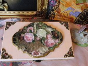 Новая шкатулка (больше фото).. Ярмарка Мастеров - ручная работа, handmade.