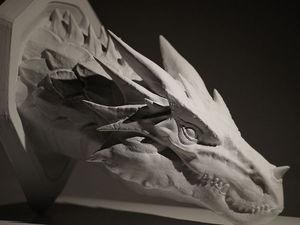 Голова дракона | Ярмарка Мастеров - ручная работа, handmade
