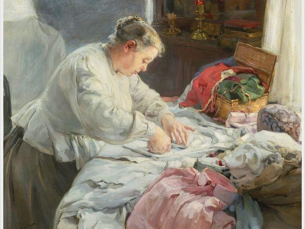 Образы рукодельниц в живописи: 26 картин современных художников | Ярмарка Мастеров - ручная работа, handmade