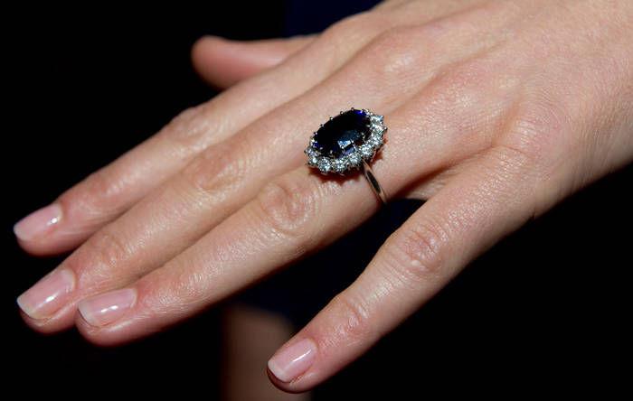 кольцо принцессы, королевские украшений