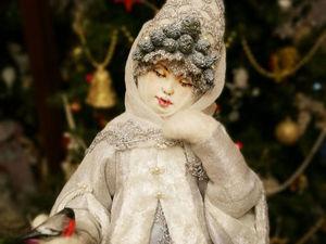 Скоро! Снегурочка. Морозное кружево! | Ярмарка Мастеров - ручная работа, handmade