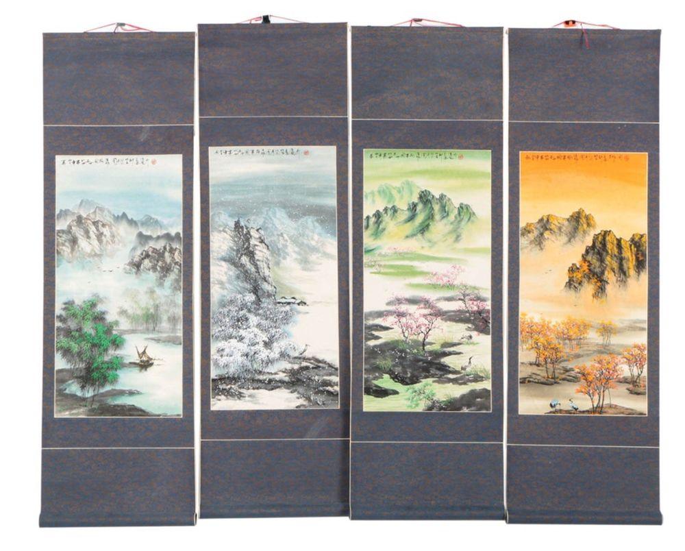 Свиток против рамы или зачем китайцы сворачивают картины в рулон