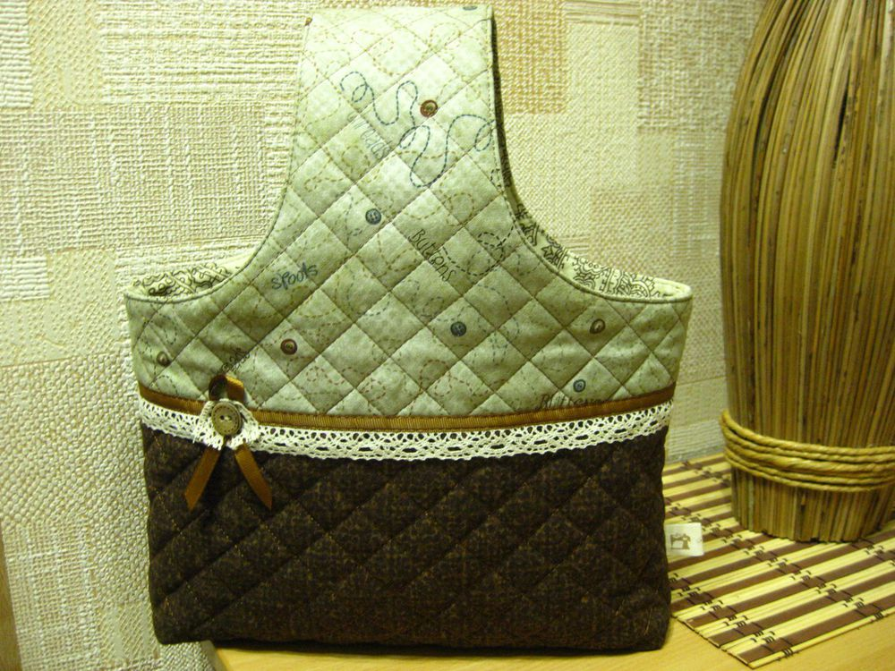 оригинальная сумка, нитки для вязания
