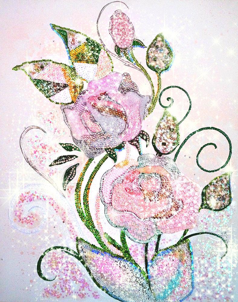 картина с розами