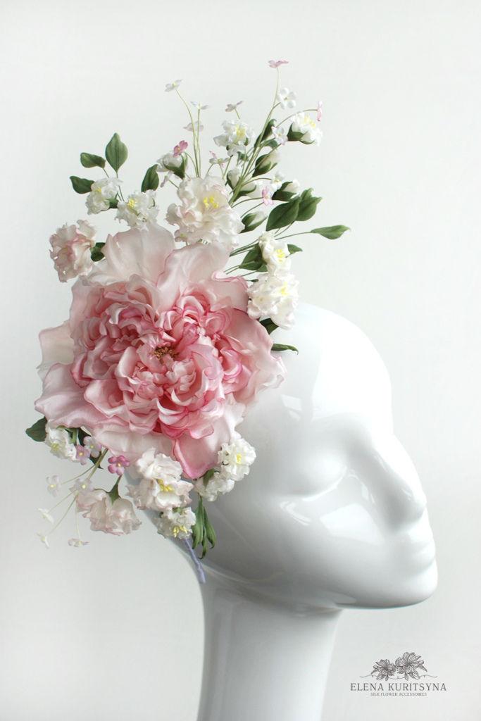 Создаем шелковую розу «Миранда» в японской технике omebana, фото № 1