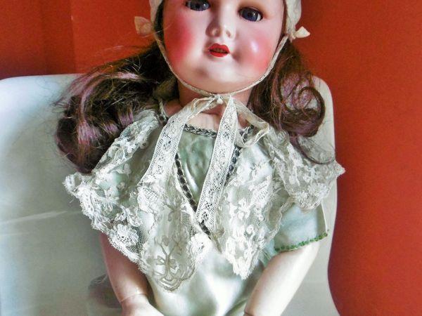 Французские шарнирные куклы типа Jumeau уже в магазине   Ярмарка Мастеров - ручная работа, handmade