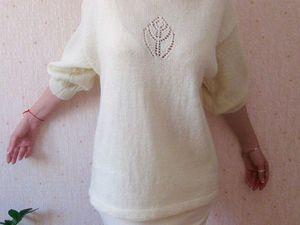 свитер из итальянской пряжи 3500+300 доставка. Ярмарка Мастеров - ручная работа, handmade.