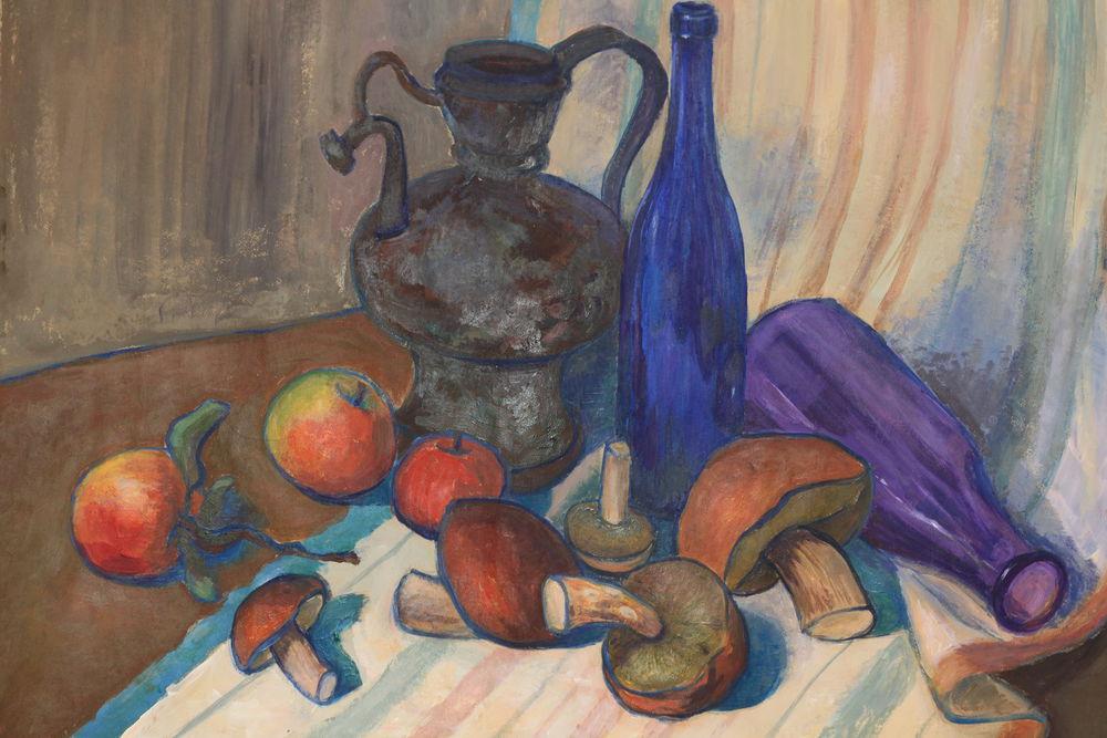 акции, картина маслом, картина с цветами, живопись в мытищи